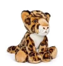 Wildlife Tree 9 Inch Stuffed Leopard Plush Floppy Animal Kingdom Collection