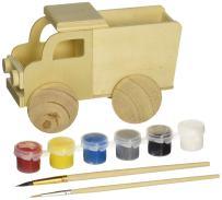 MasterPieces Works of Ahhh Dump Truck Large Wood Paint Kit