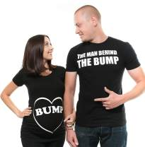 Silk Road Tees Couple Maternity T-Shirts Bump Dad and Mom Maternity Shirts New Baby Announcement Pregnancy T-Shirt
