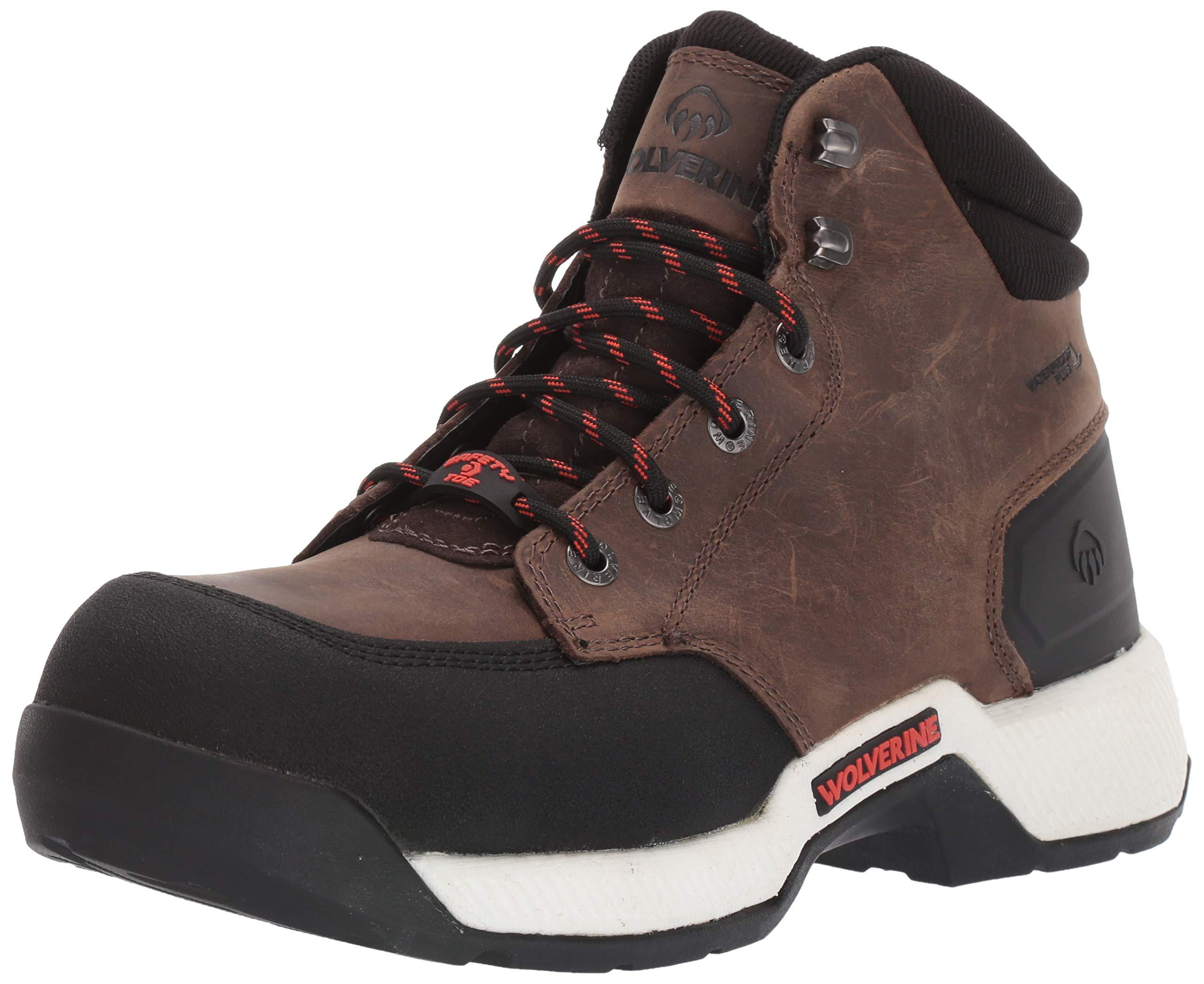 "Wolverine Men's Carom CarbonMax 6"" Work Boot Hiking"