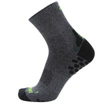Zensah 3D Dotted Running Socks - Moisture Wicking, Padded, Anti-Blister, Ankle Athletic Sock for Men and Women