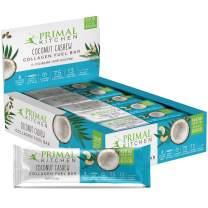 Primal Kitchen Coconut Cashew Collagen Protein Bars, 1.7 oz, Pack of 12, Gluten Free, Paleo - Contains Eggs
