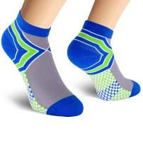 Compression Socks Plantar Fasciitis for Women Men (1/5/7 Pack), 8-15 mmHg Athletic Sock Arch Support Flight Travel Nurses