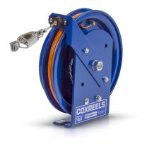 Coxreels SD-50 Spring Rewind Static Discharge Cable Reel: 50' Cable