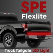 "49"" Truck Tailgate Light Bar Strip - [Brake, Turn Signal, Running, Reverse Backup] - Weatherproof LED Flexible No-Drill - 5 Feature Tail Lights for Pickup Trucks - 1yr Warranty [49-Inch]"
