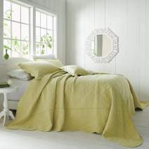 BrylaneHome Florence Oversized Bedspread - Twin, Pear