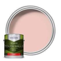 Coronado Tough Walls Interior Acrylic Paint & Primer, Pink Jade (C-5043), Satin,1 Gallon