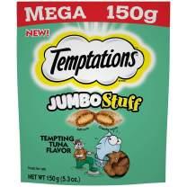 Temptations Jumbo Stuff Tempting Tuna Flavor Crunchy and Soft Cat Treats