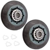 Supplying Demand W10314173 2 Pack Dryer Drum Rollers Compatible With Whirlpool Fits W10314171, 3388342