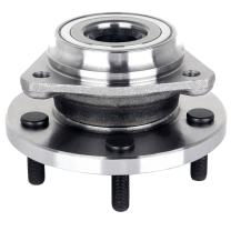 ECCPP Wheel Hub and Bearing Assembly Front 513159 fit for 1999-2004 Jeep Grand Cherokee 5 lugs wheel hub no ABS 3 Bolt Flange