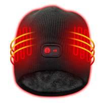 Autocastle Heated Hat Rechargeable Battery Heat Cap,3 Heat