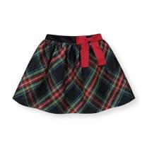 Hope & Henry Girls' Dressy Pull-On Skirt with Bow