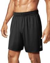 "Roadbox Men's 7"" Workout Athletic Gym Shorts Lightweight Basketball Shorts Whit Pocket for Golf, Swim, Soccer, Running"