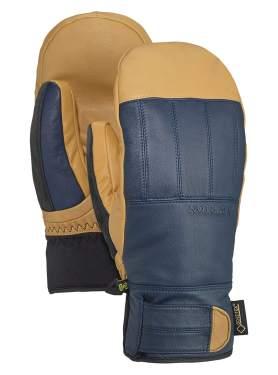 Vgo 2Pairs Touchscreen Goatskin Leather Winter Warm Skiing Gloves for Men Black/&Blue, SF-GA2444FW Waterproof Insert