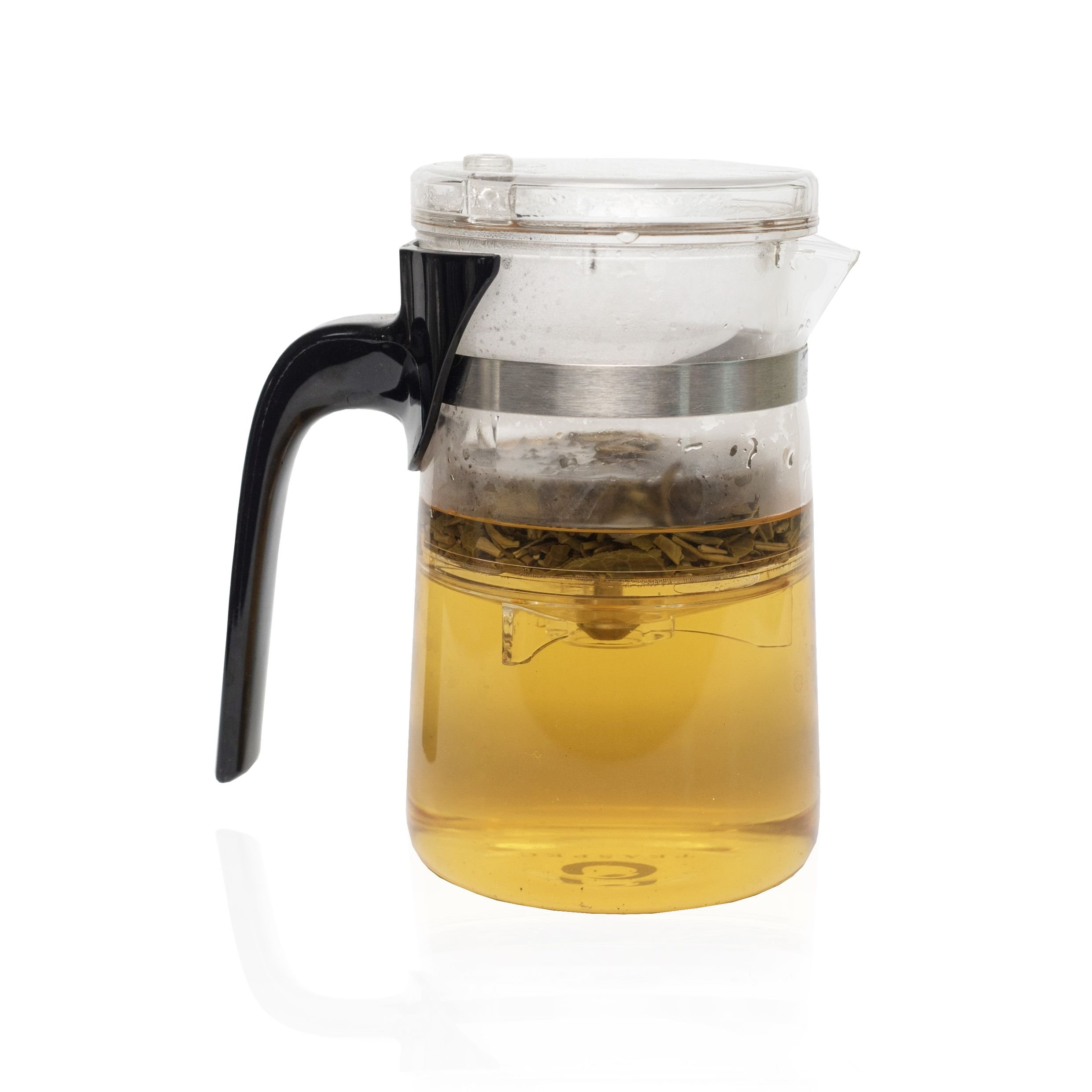 TEASPEC Lazy Pour, Glass Teapot with removable infuser, 500ml