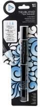 Spectrum Noir Blend Triblend Blendable Alcohol Marker 3 Colours in 1 Pen-Ice Blue