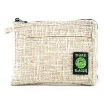 Padded Pouch - Soft Interior with Secure Heavy-Duty Zipper (Tan, 10-Inch)