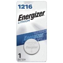 Energizer 1216 Batteries 3V Lithium, (1 Battery Count)