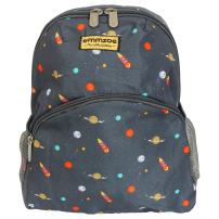 "Emmzoe ""Little Explorer"" Mini Toddler and Kids Backpack - Lightweight - Fits Lunch, Table, Food, Books (Galactic Space)"
