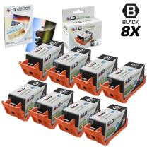LD Remanufactured Ink Cartridge Replacements for HP 920XL CD975AN High Yield (Black, 8-Pack)