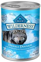 Blue Buffalo Wilderness Regional Recipes High Protein Grain Free Natural Wet Dog Food, 12.5-oz cans (Pack of 12)