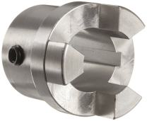 "Boston Gear FC2011/8 Shaft Coupling, Insert 3-Jaw Type, FC20 Coupling Size, 1.125"" Bore, 2.000"" Outside Diameter, 3.690"" Overall Length, 1.750"" Hub Diameter"