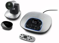 Logitech ConferenceCam CC3000e All-in-One HD Video and Audio Conferencing System, 1080p Camera and Speakerphone