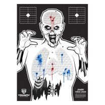 Threat Down Bleeding Targets - Reactive Target - Shooting Target - Reactive Splatter Target - Targets for Shooting