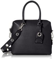 Calvin Klein Sabrina Mercury Leather Satchel
