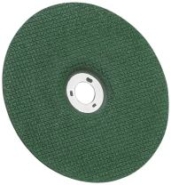 """3M Green Corps Flexible Grinding Wheel, Ceramic, 7"""" Diameter, 15/128"""" Thick, 60 Grit, Green (Pack of 20)"""