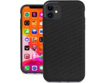Evutec Ballistic Nylon iPhone 11 6.1 Inch, Unique Heavy Duty Premium Protective Military Grade Drop Tested Shockproof Phone Case Cover(AFIX+ Magnetic Mount Included) (Black)