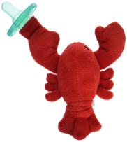 Mary Meyer WubbaNub Soft Toy and Infant Pacifier, Lobbie Lobster