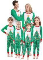 Matching Family Christmas Pajamas Boys Girls Tree Jammies Children PJs Gift Set