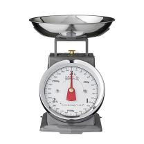 Bloomingville A57000004 Silver Metal Kitchen Scale