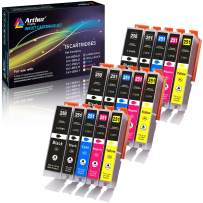 Arthur Imaging Compatible Ink Cartridge Replacement for 250XL 251XL (5 Large Black, 5 Small Black, 5 Cyan, 2 Yellow, 5 Magenta, 15-Pack)