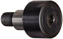 "Koyo CRSBE-20 Track Roller, Eccentric Stud, Sealed, Inch, Steel, 1-1/4"" Roller Diameter, 3/4"" Roller Width, 1-1/4"" Stud Length, 1/2"" Thread Size, 2-1/32"" Overall Length, 1/2"" Stud Diameter"