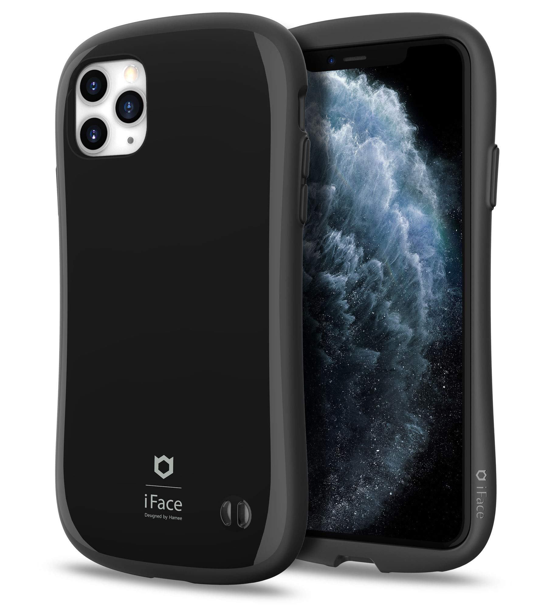 iFace First Class Series iPhone 11 Pro Max Case – Cute Dual Layer [TPU and Polycarbonate] Hybrid Shockproof Protective Cover for Women [Drop Tested] - Black