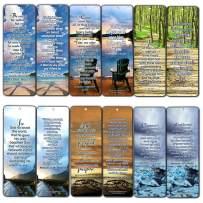 Most Highlighted Bible Verses Bookmarks Cards Bulk Set - KJV Version (60-Pack)- Religious Christian Inspirational Gifts to Encourage Men Women Boys Girls - Bible Study Sunday School War Room Decor