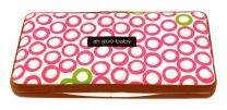 Ah Goo Baby Wipes Case, On-The-Go Travel Size, Bubbles in Juice Pattern