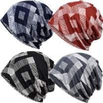 Cotton Face Bandanas for Sports Headwear Headband Neck Gaiter Chemo Cap Hair Loss Beanie Nightcap