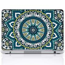 Meffort Inc 15 15.6 Inch Laptop Notebook Skin Sticker Cover Art Decal (Included 2 Wrist pad) - Mandala Design