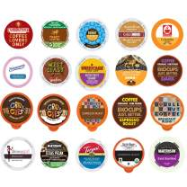 Variety Pack Sampler, Assorted Single Serve Coffee Pods for Keurig K Cups Coffee Makers, 20 Unique Cups - No Duplicates…