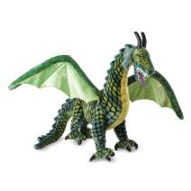 Melissa & Doug Lifelike Plush Giant Winged Dragon Stuffed Animal (36 x 40.5 x 16 in, Great Gift for Girls and Boys - Best for 3, 4, 5 Year Olds and Up)