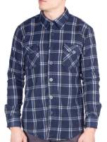 Visive Mens Flannel Shirt Long Sleeve Button Down Up Heavy Flannel Shirts Up to Size 5XL