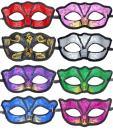 12pcs Set Evening Prom Venetian Masquerade Masks Costumes Party Accessory