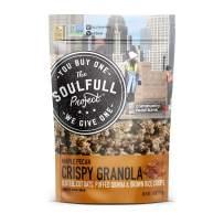 The Soulfull Project Crispy Granola, Maple Pecan, 11 Oz Bag, 6Count