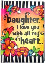 """Blue Mountain Arts Little Keepsake Book""""Daughter, I love you with all my heart"""" 4 x 3 in. Sentimental Mini-Book Is Perfect Christmas, Birthday, Graduation, or Anytime Gift from Mom, by Suzy Toronto"""