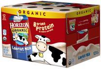 Horizon Organic Low Fat Milk, Plain, 8 Fl Oz (Pack of 12)