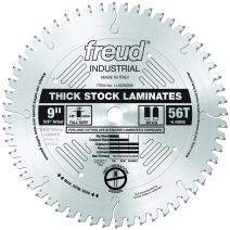 "Freud 9"" x 56T Thick-Stock Laminate Blade (LU92M009)"