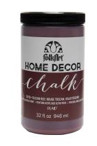 FolkArt 38729 Home Decor Chalk Furniture & Craft Paint in Assorted Colors, 32 ounce, Tuscan Red